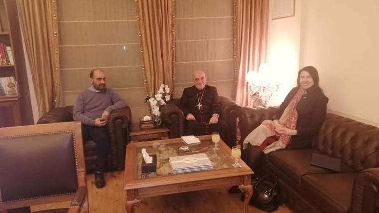 Australian Ambassador to Lebanon in the Archdiocese