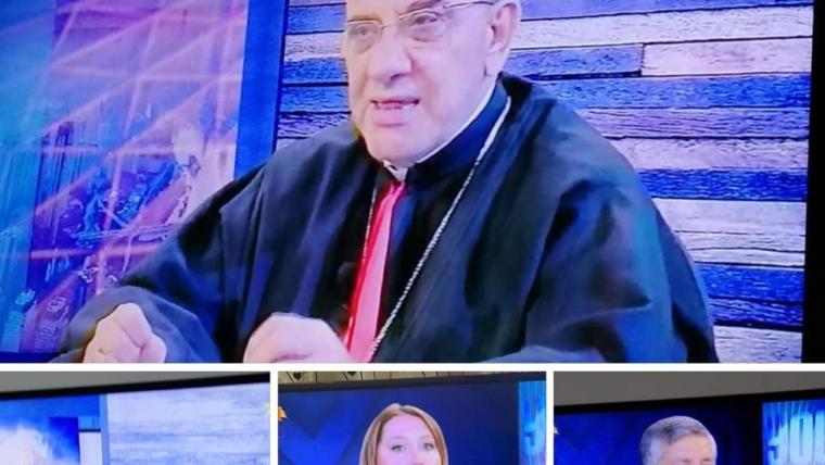 Program about the Chaldean Diocese of Beirut on Tele Lumiere-Noursat