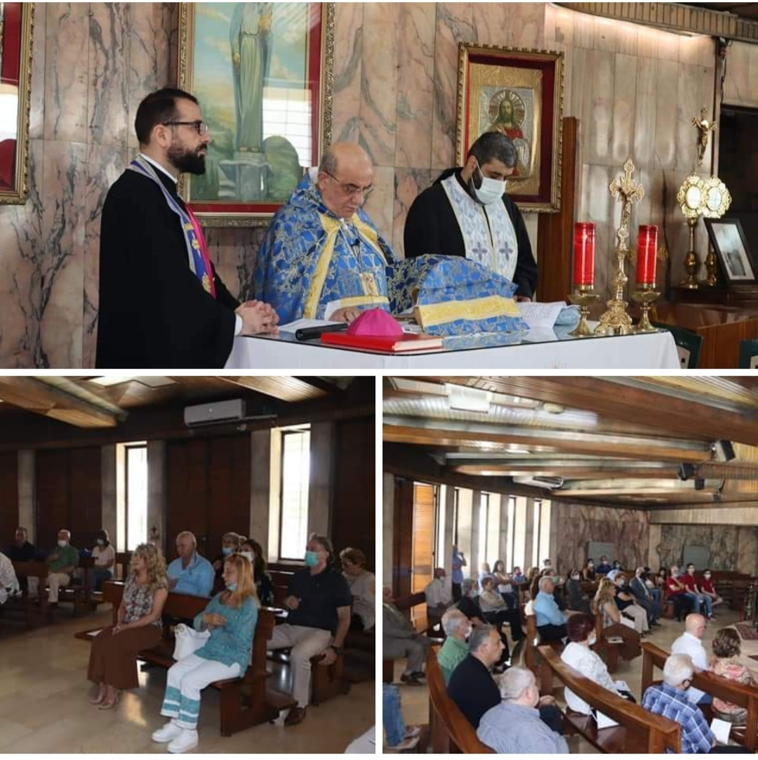 Divine Liturgy at the shrine of Our Lady of Zahle and Beqaa