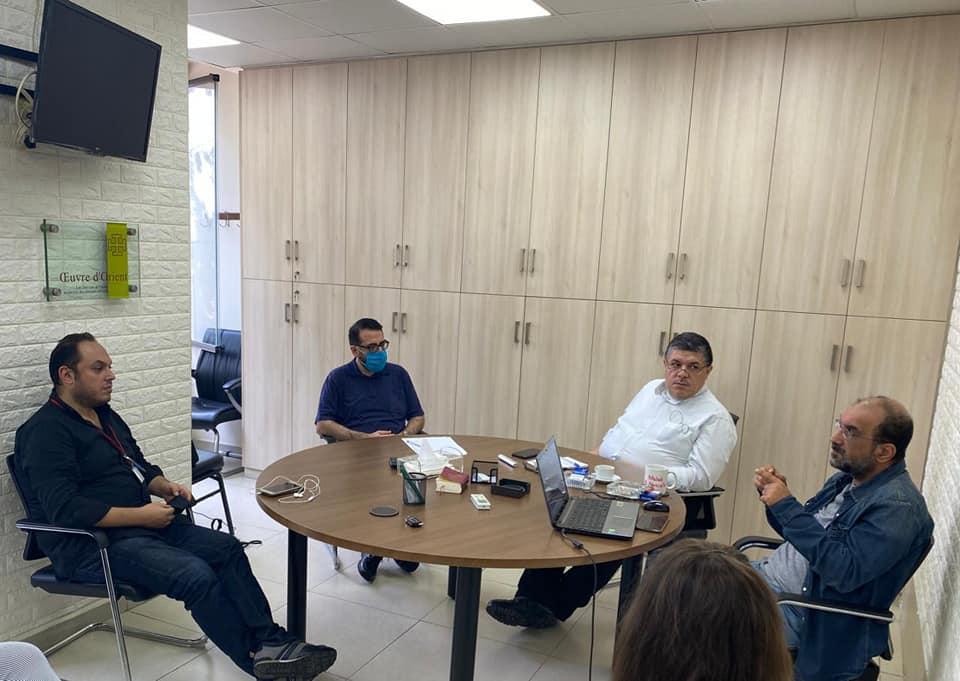 Coordination meeting between the Chaldean Church in Lebanon and Caritas Lebanon