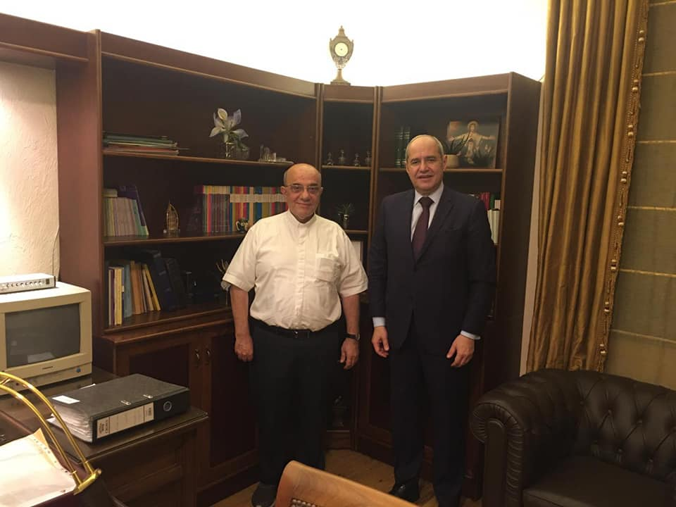 Visit of the President of the Lebanese Bar Association to the Bishopric in Baabda
