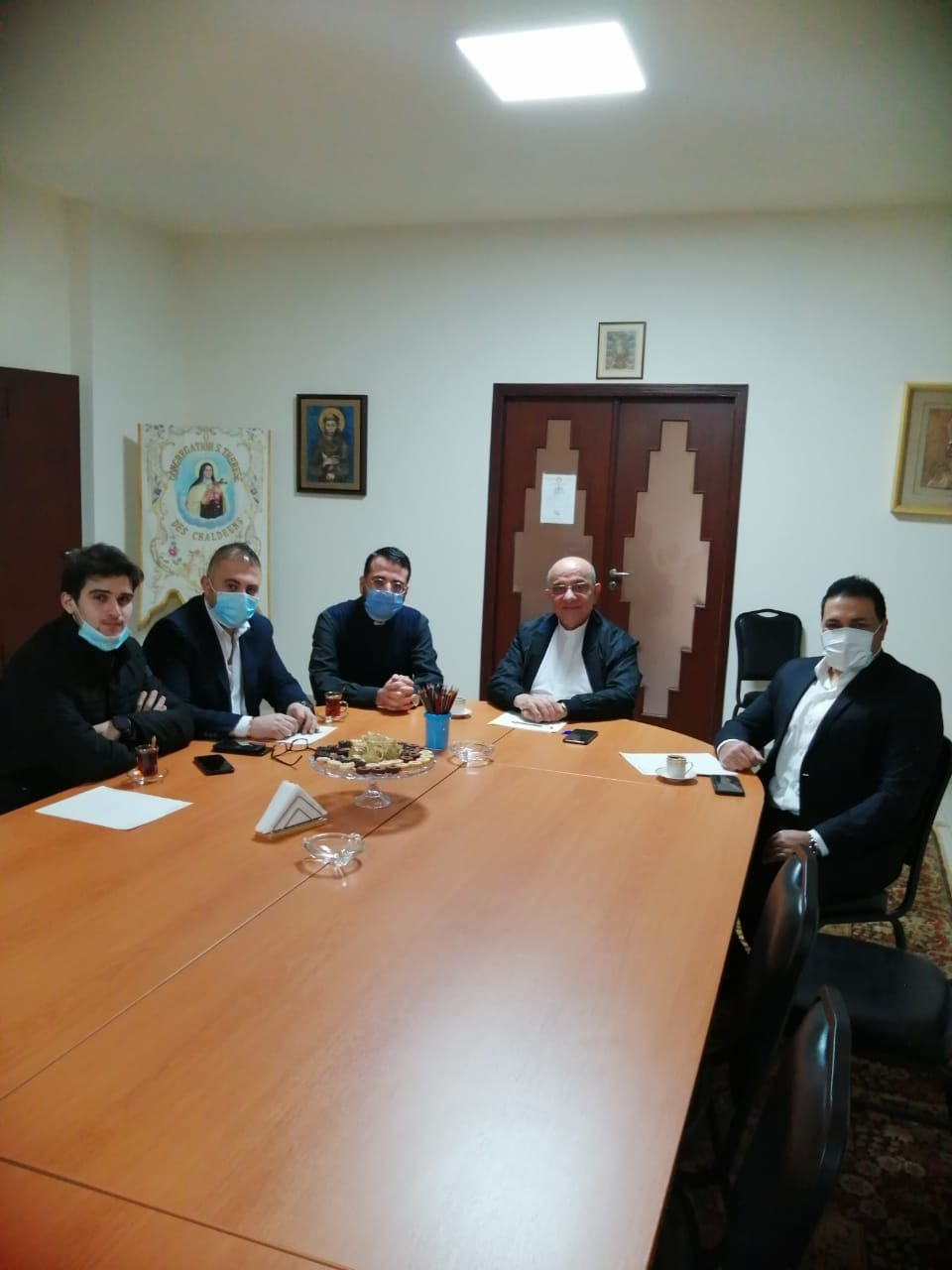 Visit of a delegation of the Saint Rafqa Association for Hope and Mercy