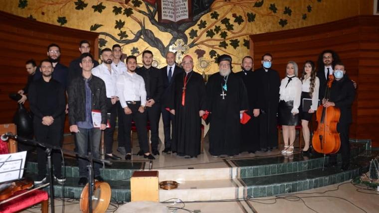 An evening of Christmas hymns in the parish of Saint Elias Dekwaneh