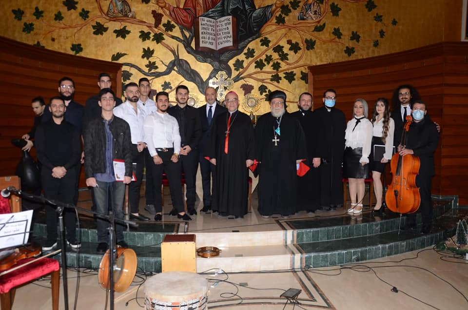 An evening of Christmas hymns in the parish of Saint Elias Dekwaneh