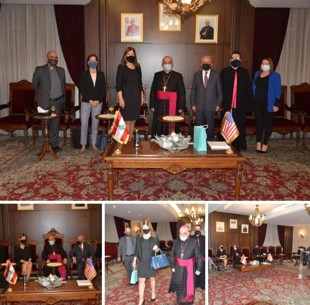 US Ambassador Dorothy Shea visit to the Chaldean Diocese of Beirut