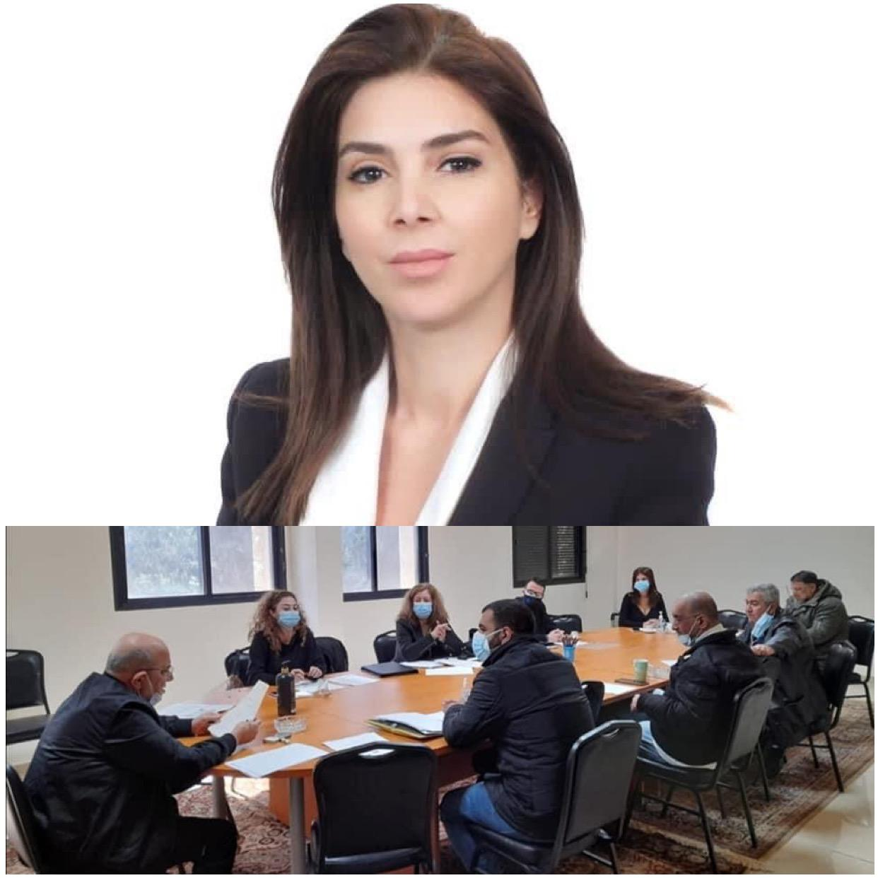 Mrs. Fabienne Hakim new president of the Chaldean Charitable Society in Lebanon