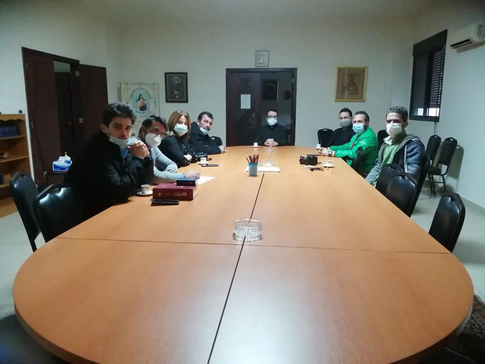 A delegation from the Saint Rafqa Association visits the Chaldean Diocese of Beirut