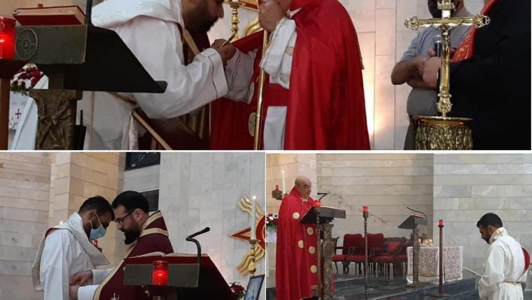 Ordination of Sub-Deacon Danny (Daniel) Chiba