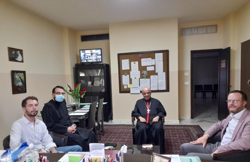 S.O.S. Chrétiens d'Orient visits the Chaldean Church in Lebanon