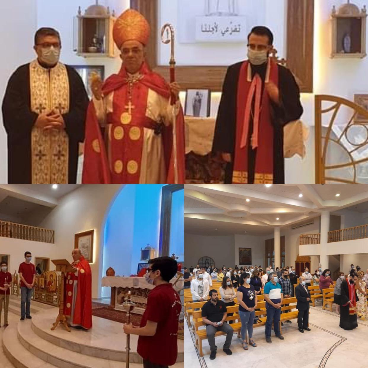 Pentecost and Holy Marian month in Zahle