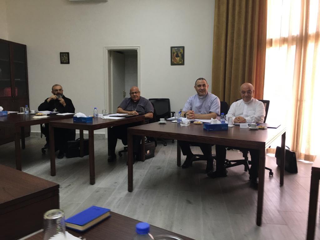 Bishop Michel Kassarji attends the APECL Executive Committee meeting
