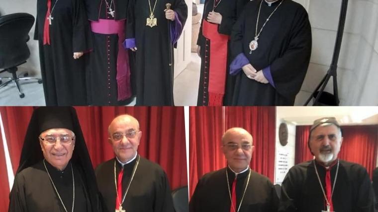 Meetings of Bishop Kassarji in Bkerke