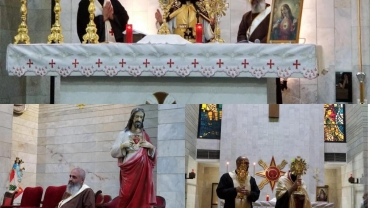 Spiritual evening in honor of the month of the Sacred Heart of Jesus and the Feast of the Eucharist