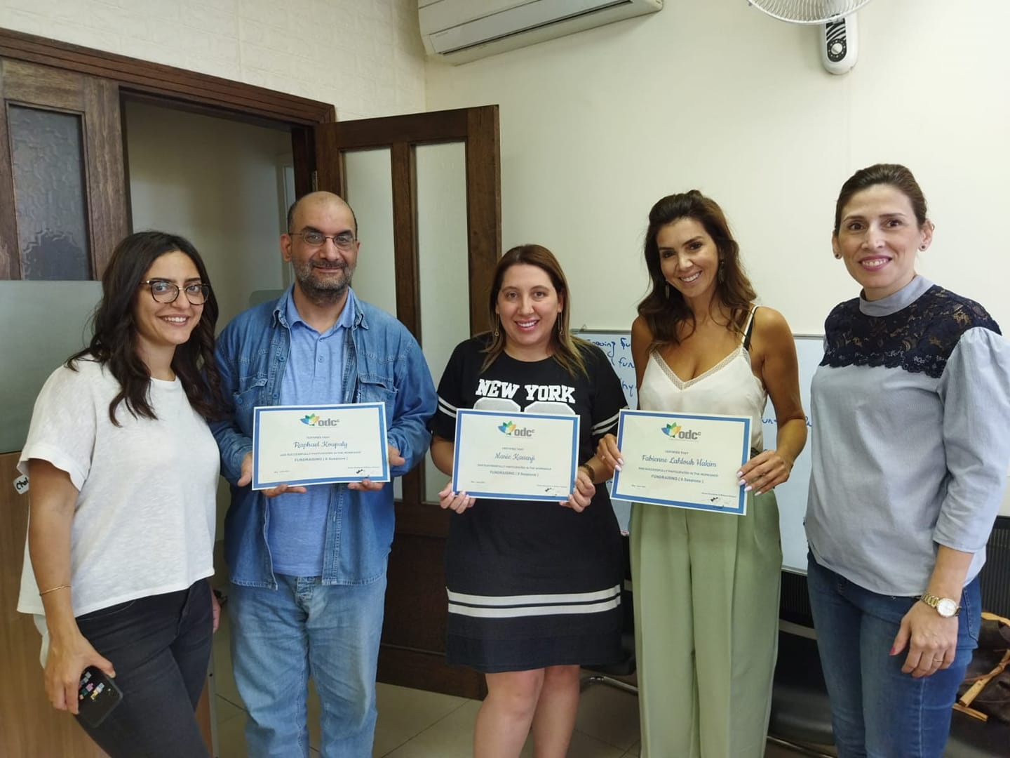 Training course on fundraising and charitable projects financing in partnership with the ODCC Foundation